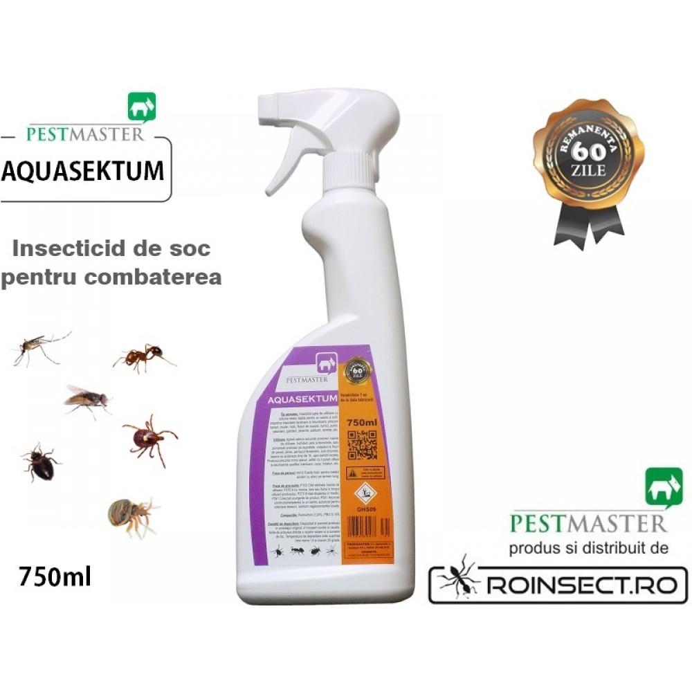 AQUASEKTUM 750ml - Insecticid rapid impotriva daunatorilor