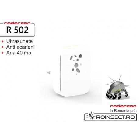Aparat cu ultrasunete anti acarieni si purificator de aer R-502 (40 mp)