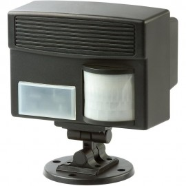 Aparat electronic cu ultrasunete si senzor PIR 60035 pentru alungarea animalelor, caini, pisici, pasari, iepuri, porci mistreti, caprioare, rozatoare 100mp