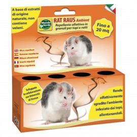 Rat Raus Ambient REP78 repelent olfactiv granule pentru soareci si sobolani 50gr