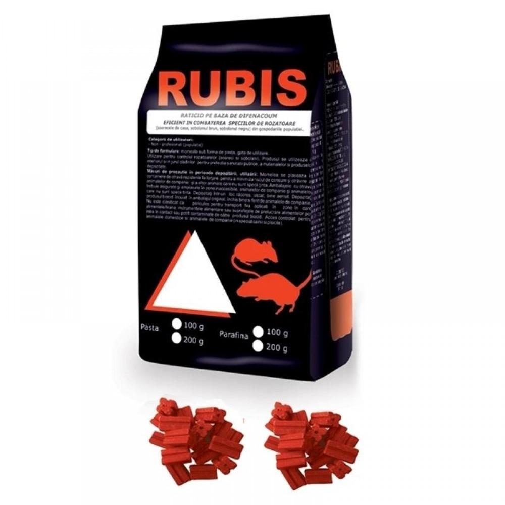 Rubis parafina( baton cerat) 10kg( 10gr/ bloc)