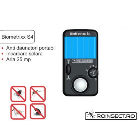 Aparat solar impotriva insectelor si daunatorilor (anti soareci, sobolani) - Biometrixx S4 ( -28% reducere)