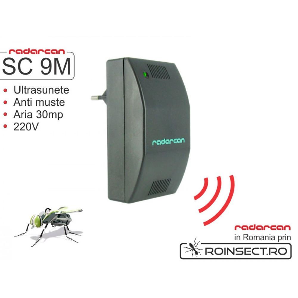 Aparat cu ultrasunete impotriva mustelor SC-9M  - 30 mp (-30%reducere)