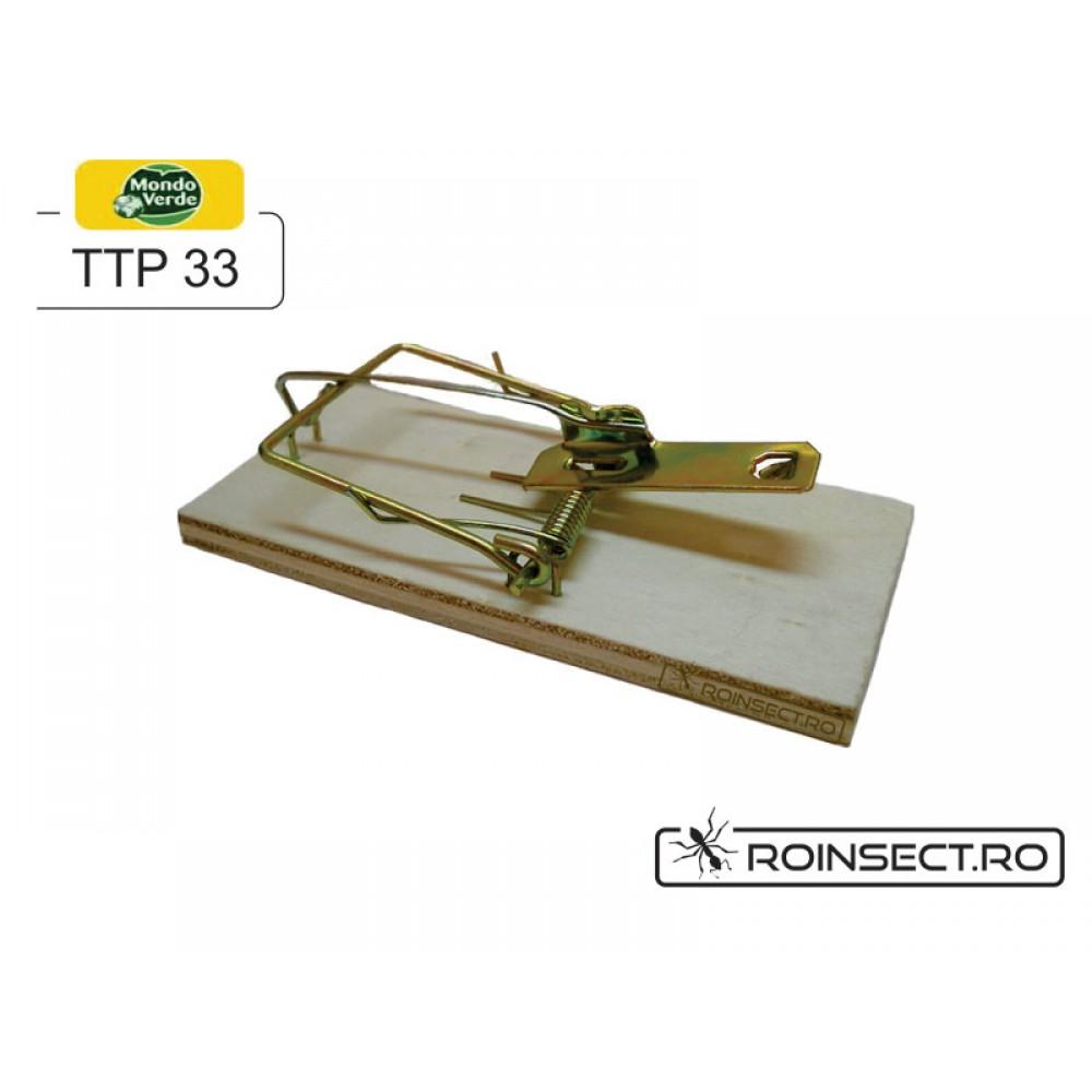Capcana mecanica soareci - Basic Trap TTP33 (set 2 buc)