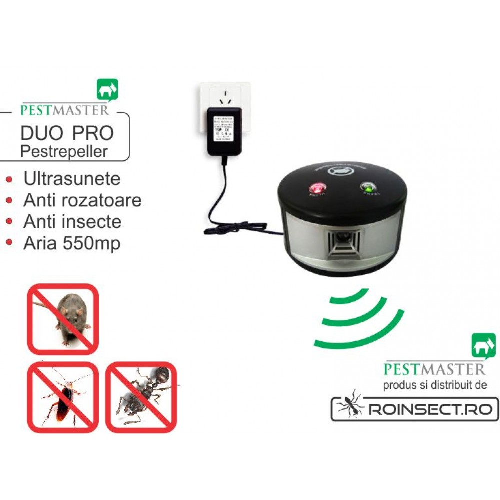 DUO PRO Pestrepeller - 550 mp