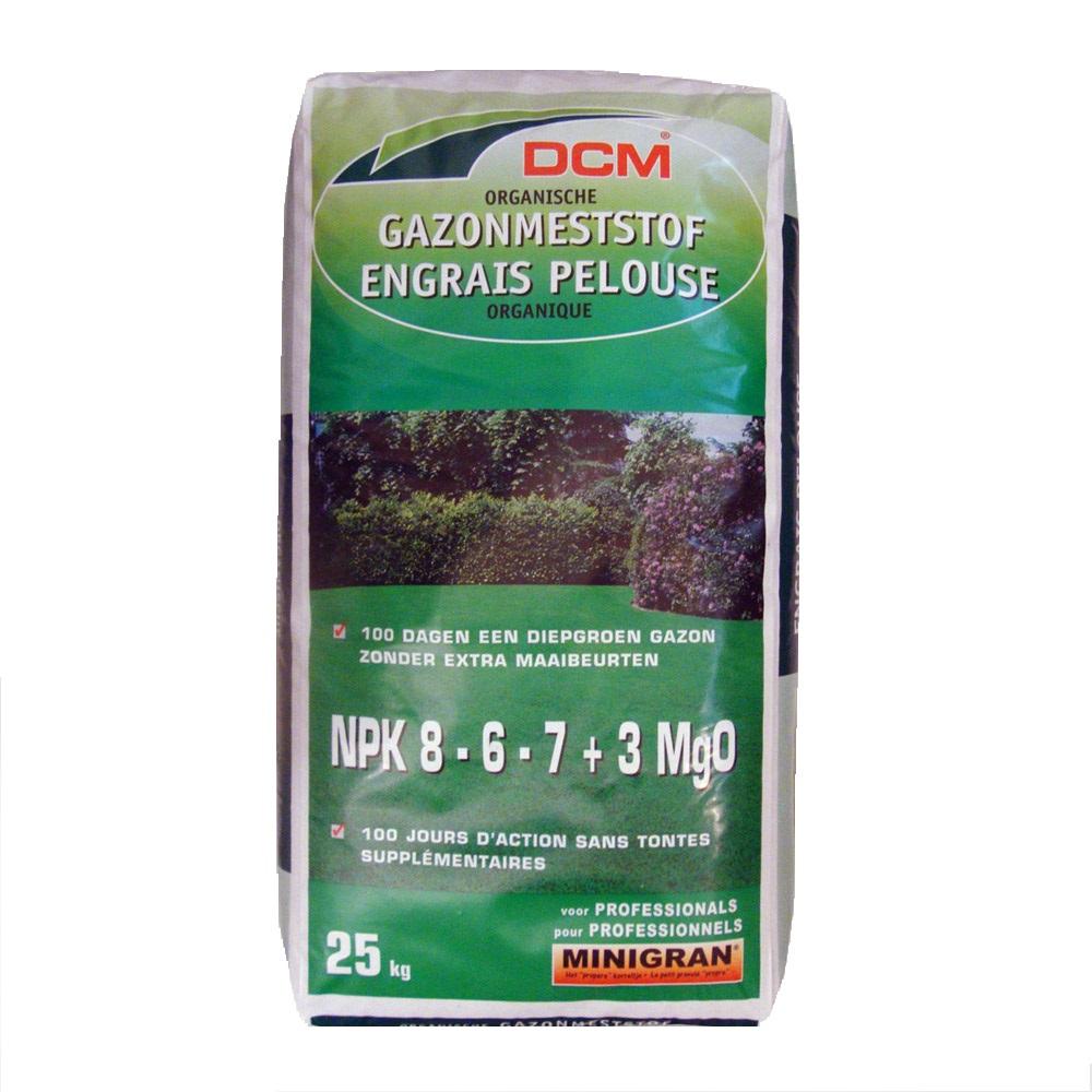Fertilizant pentru gazon NPK 8-6-7+3 MgO DCM( 25 Kg)