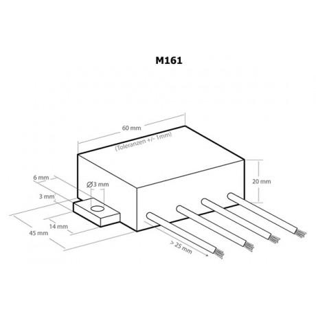 Generator ultrasunete anti daunatori - Kemo M161