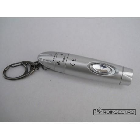 Aparat anti-tantari portabil cu lanterna LED - 6 m