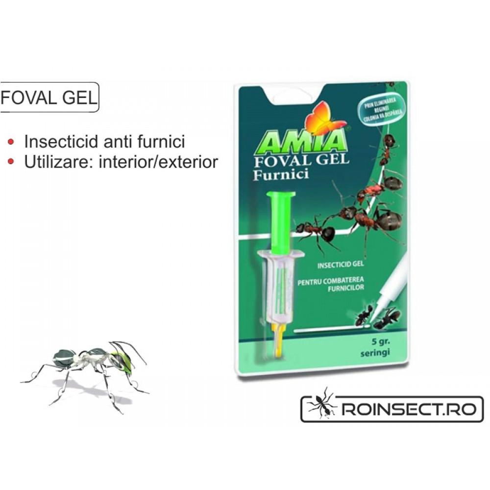 Insecticid gel impotriva furnicilor Foval