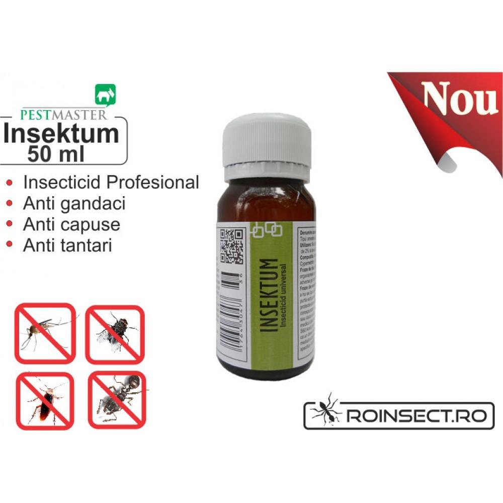 Insecticid universal - Insektum 50ml (solutie anti gandaci)