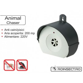 Animal chaser- aparat cu ultrasunete impotriva salbaticiunilor, animaleleor mare, caini, pisici