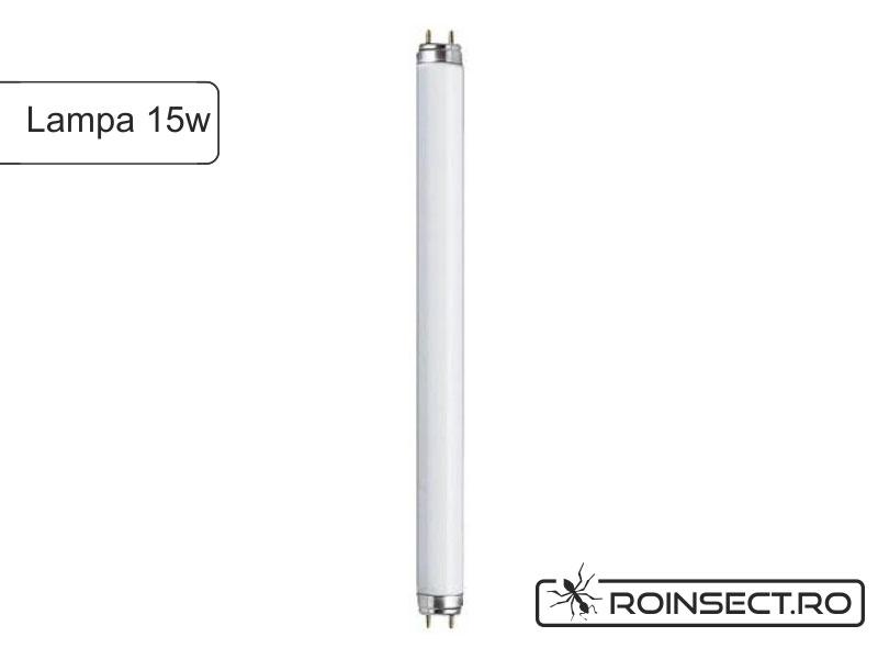 Lampa UV de 15 W pentru distrugator insecte