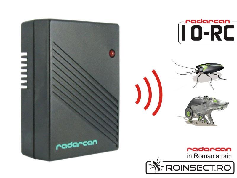 Aparat portabil cu ultrasunete impotriva soarecilor si gandacilor Radarcan 10RC - 20 mp (-20% reducere)