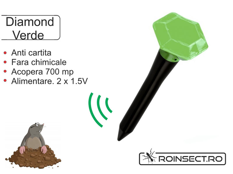 Aparat anti-cartita Diamond, verde (acopera 700 mp)