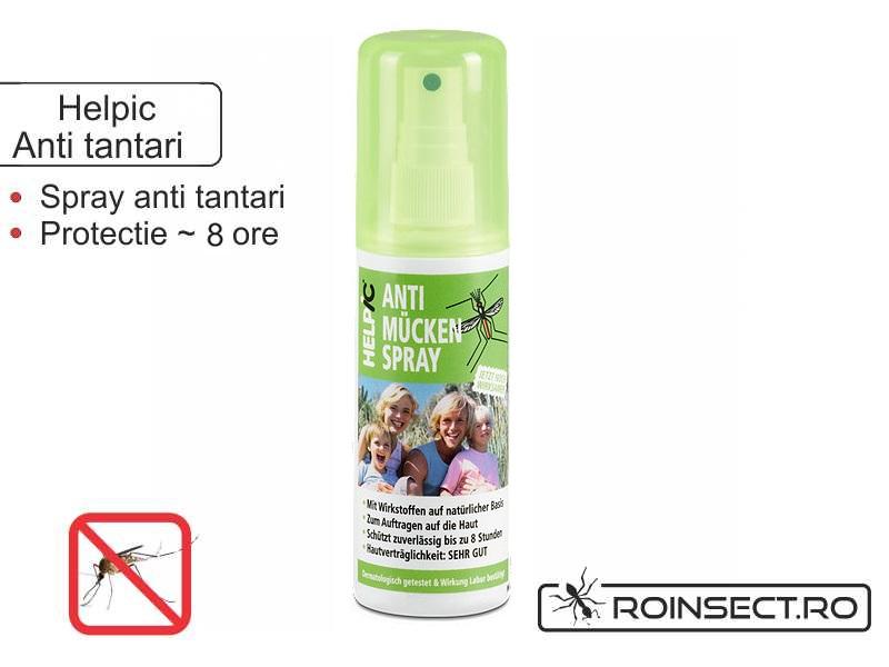 Spray protectiv contra tantarilor Helpic