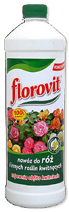 Ingrasamant specializat lichid Florovit pentru trandafiri si alte plante cu flori 1L