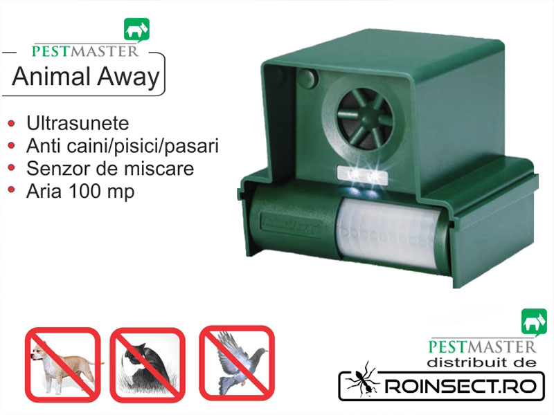 Dispozitiv fix impotriva pasarilor - Animal Away Plus