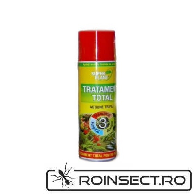 Spray Insecticid Tratament Total pentru plante Super Plant 250 ml