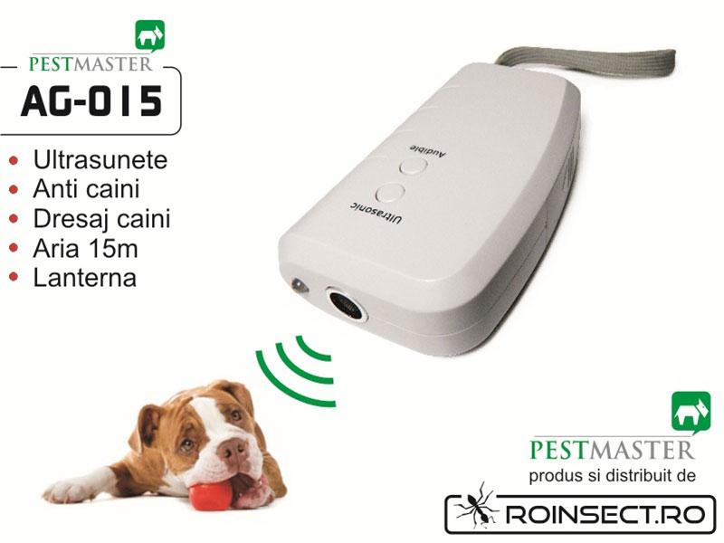 Dispozitiv electronic pentru alungarea sau dresarea cainilor Pestmaster AG015