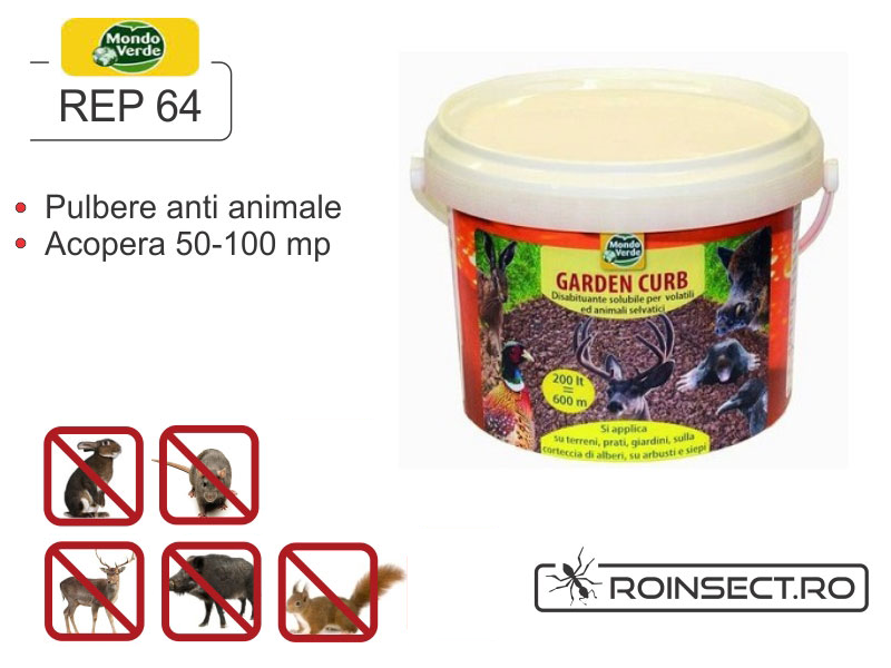 Pulbere solubila anti animale salbatice (900 g) - REP 64