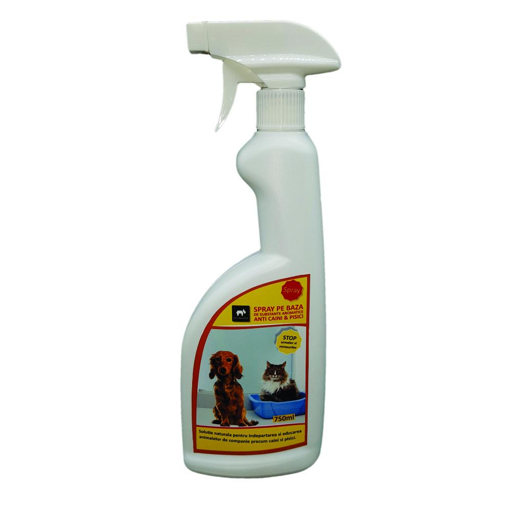 Spray anti caini/pisici, pe baza de substante aromatice 750 ml
