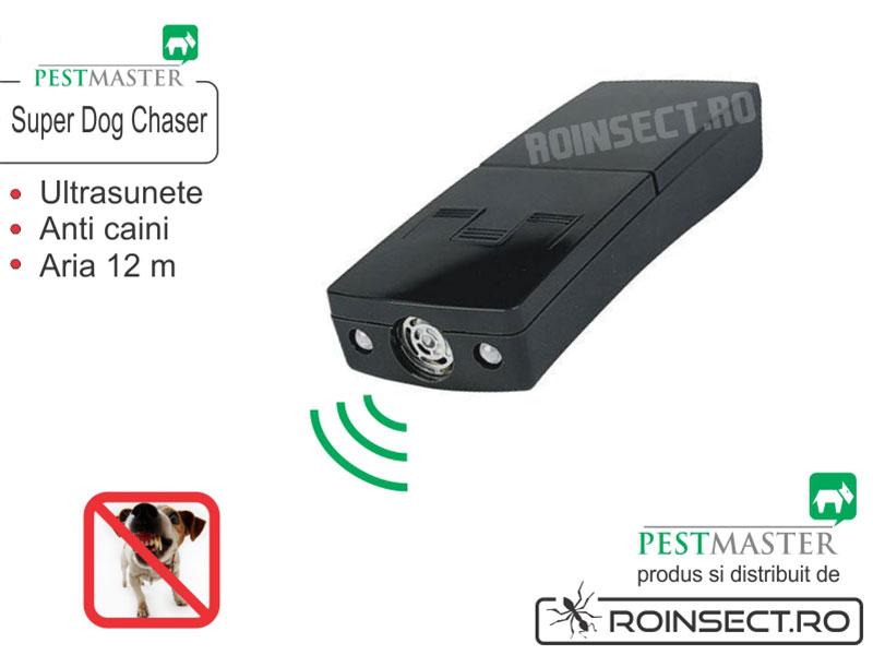 Super Dog Chaser - Dispozitiv mobil impotriva cainilor agresivi 12m