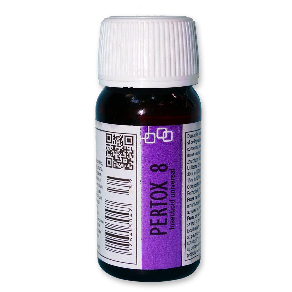 Substanta concentrata impotriva mustelor 70 mp - Pertox 8 - 50 ml
