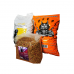 Set format din 1 sac hrana catei de la Greedy, 10 kg, 1 sac hrana catei de la Bodri, 10 kg  si 1 sac hrana pisici Finci, 5 kg