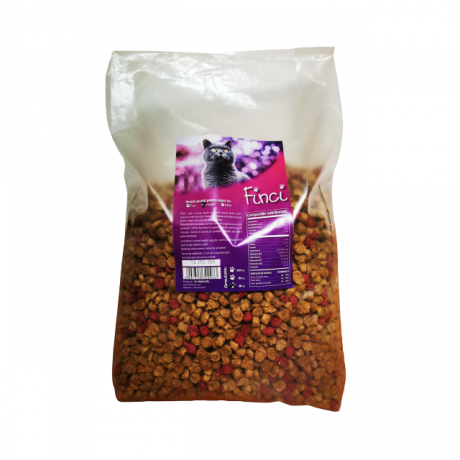 Hrana Finci pentru pisici cu aroma de peste 3 kg