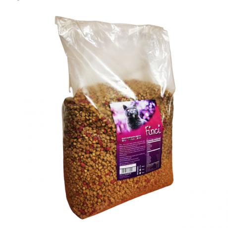 Hrana Finci pentru pisici cu aroma de peste 10 kg