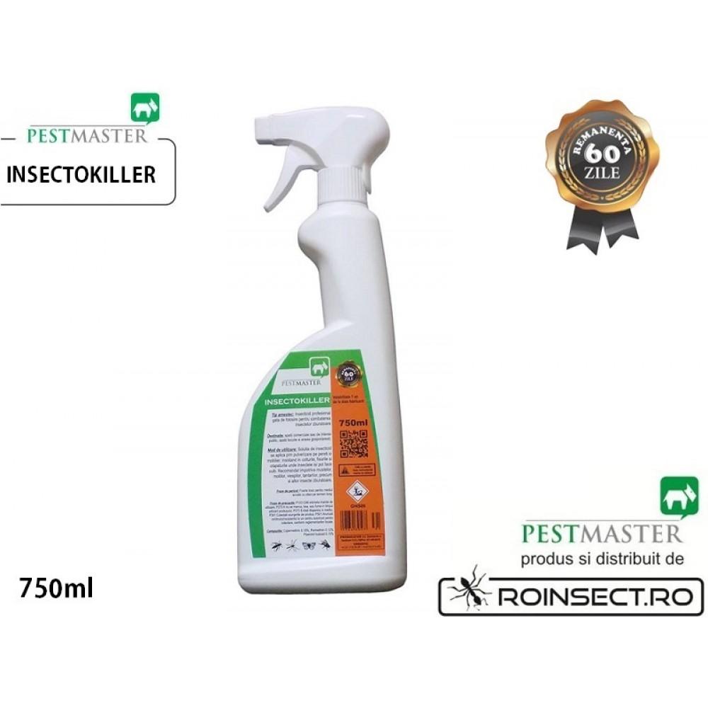 Insecticid profesional impotriva insectelor zburatoare - INSECTOKILLER 750ml