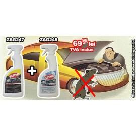 Oferta! Spray impotriva mirosului de rozatoare ZAG248 si Spray anti rozatoare ZAG247
