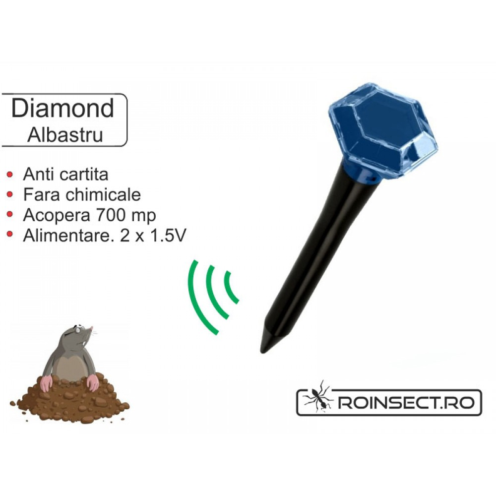 Aparat anti-cartita Diamond, albastru (acopera 700 mp)