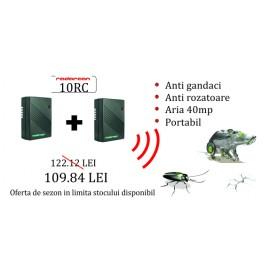 Aparat portabil anti rozatoare, anti gandaci 10RC (OFERTA DE SEZON 2 bucati la 109.84 RON)