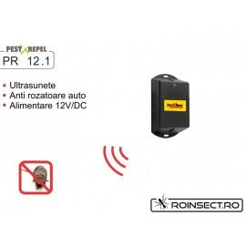 Dispozitiv cu ultrasunete impotriva rozatoarelor pentru autovehicule - PestXRepel PR-12.1