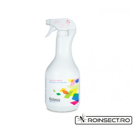 Klintensiv Dezinfectant de suprafete 750 ml (gata preparat)