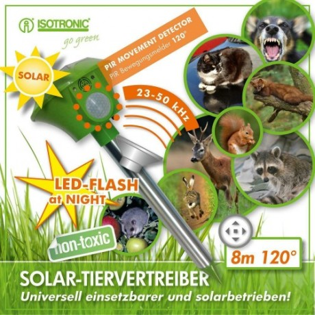 Isotronic 60010, Dispozitiv solar anti animale 1000mp.
