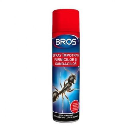 BROS Spray impotriva furnicilor si gandacilor cu aerosol 150ml. (032)