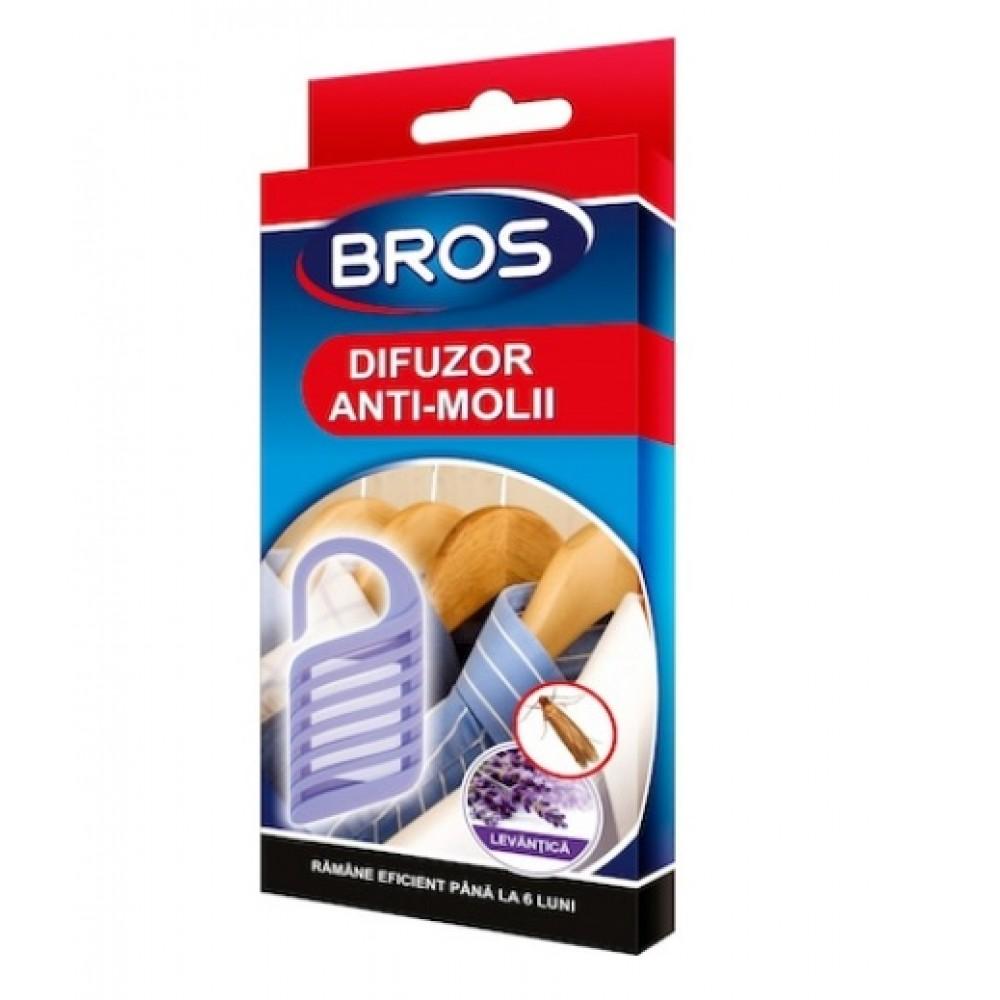 BROS Suport de agatat cu lavanda anti molii (028)