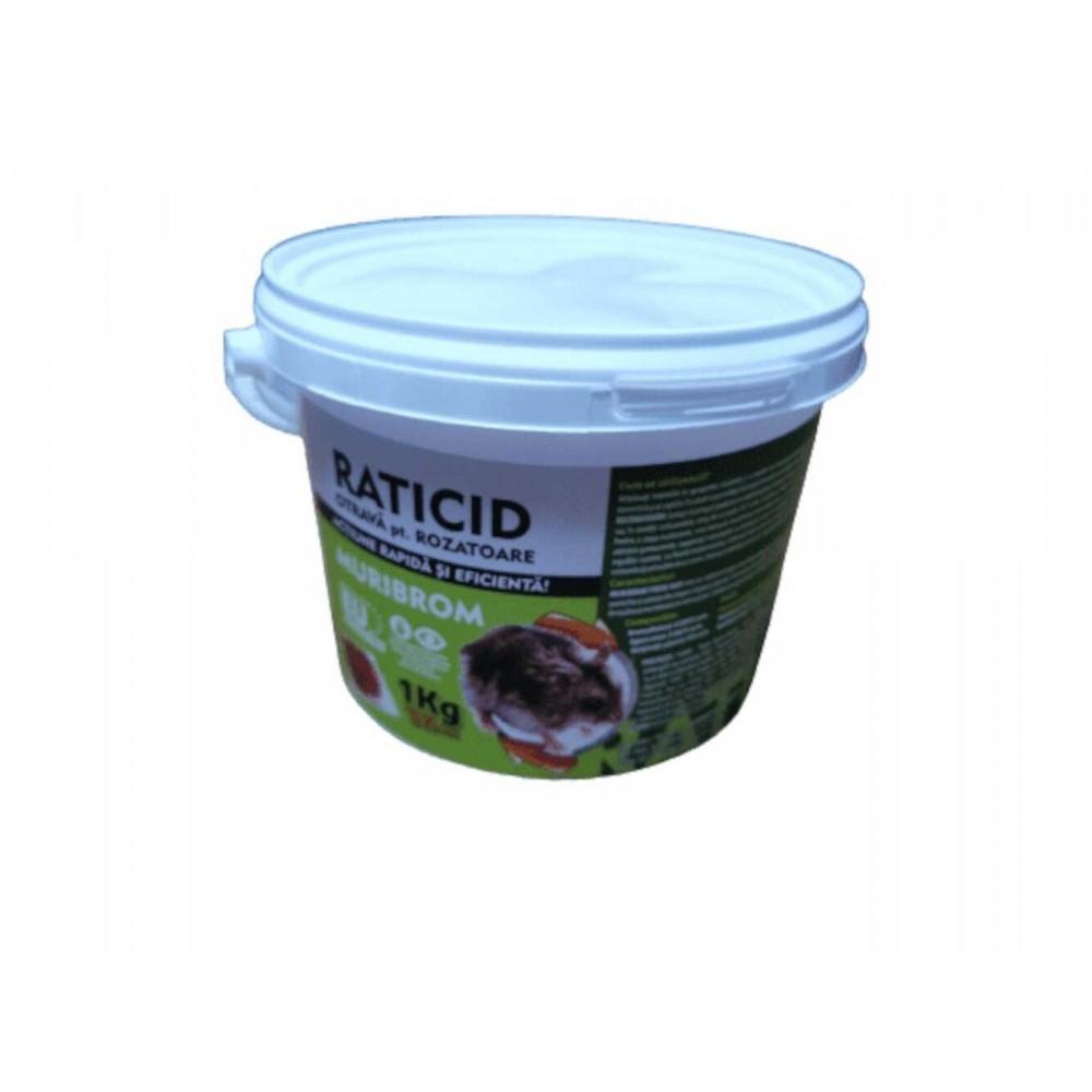 Muribrom 1kg. Raticid pentru rozatoare (soareci, sobolani)