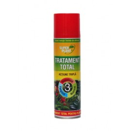 Super Plant, Spray Tratament Total Actiune Tripla pentru plante, 500ml