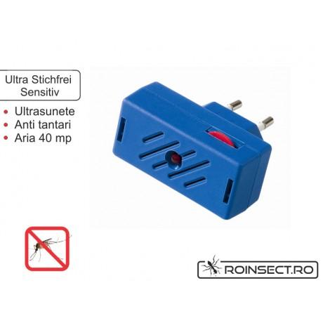 Aparat contra tantarilor cu ultrasunete sensitive (40 mp)