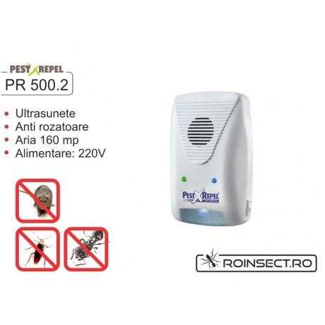 Aparat anti soareci, sobolani si lilieci cu ultrasunete - PR500.2 - 160 mp