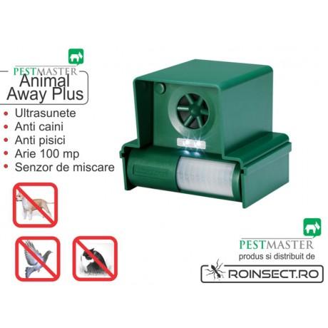 Dispozitiv mobil cu baterii impotriva cainilor si pisicilor Animal Away Plus