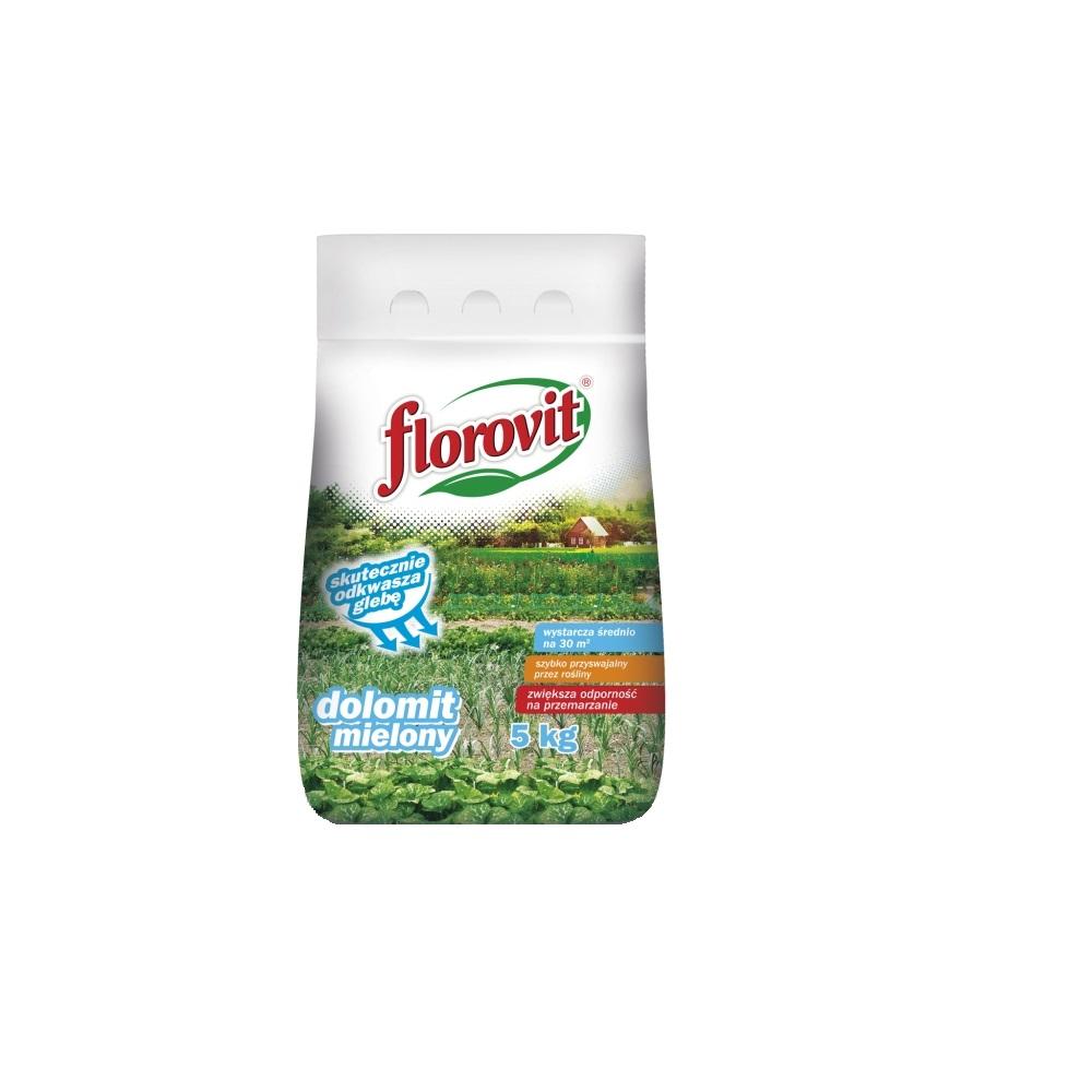 Ingrasamant specializat granulat Florovit Dolomita 5kg