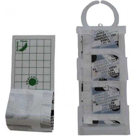 Capcana adeziva anti-molii de cereale cu feromoni Geo Pad