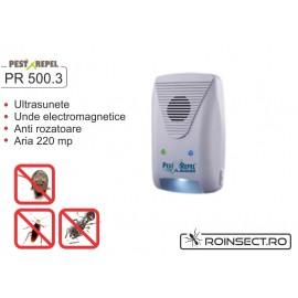 Dispozitiv electronic impotriva rozatoarelor  PR-500.3 - COMBATEREA pe 220 mp