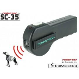 Aparat cu ultrasunete pentru indepartarea cainilor SC35 -10 m (-25% reducere)