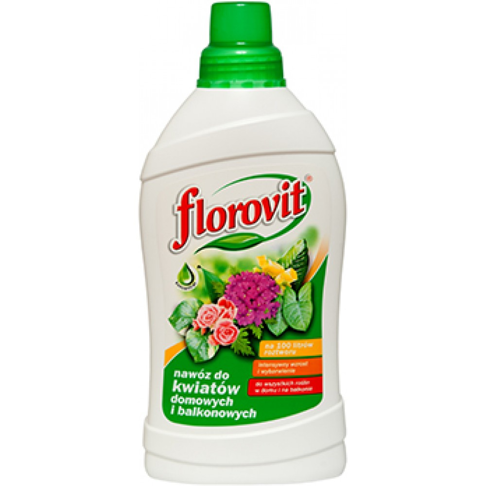 Florovit ingrasamant specializat lichid pentru plante de ghiveci si flori de balcon 0.25L