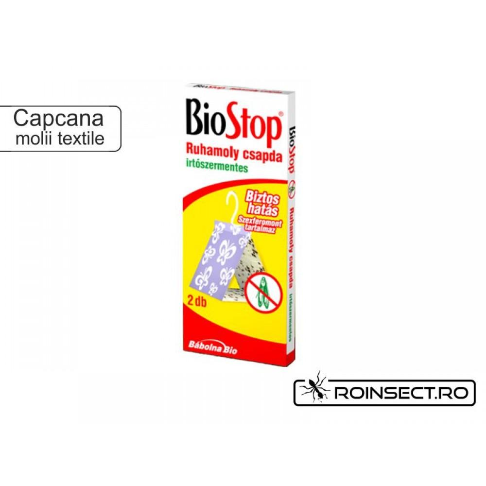 Capcana pentru molia textilelor BioStop (anti molii)